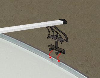 Инструкция крепления багажника на крышу Honda CR-V 4 (c 2012 г.)