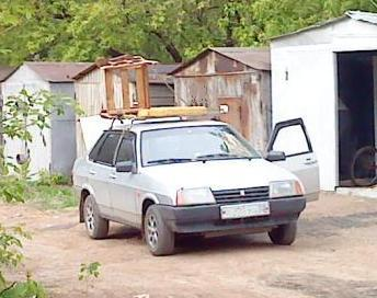 Перевозка грузов на легковом автомобиле