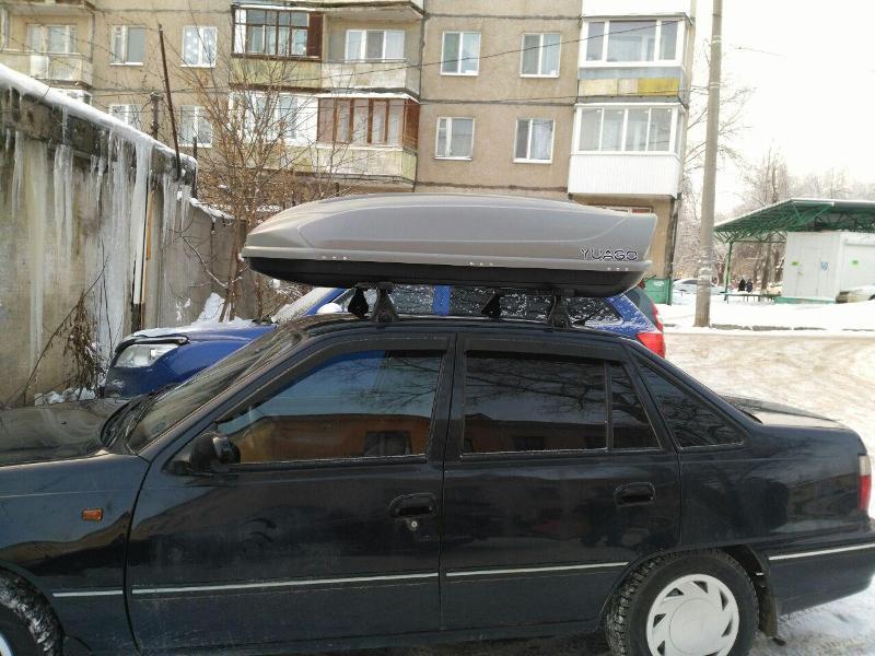 Багажник для дэу нексия своими руками 30